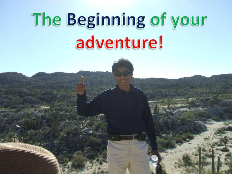 The Beginning of your adventure!